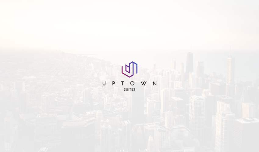Uptown Logo Design Lockup