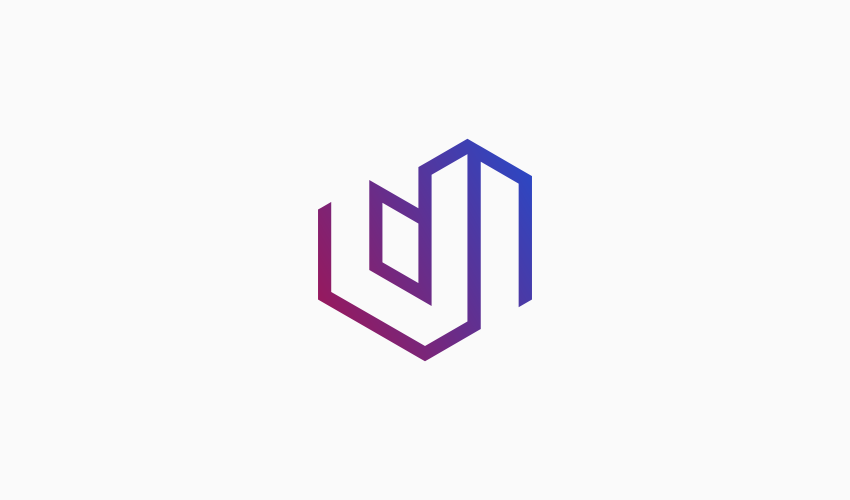 Uptown logo color gradient