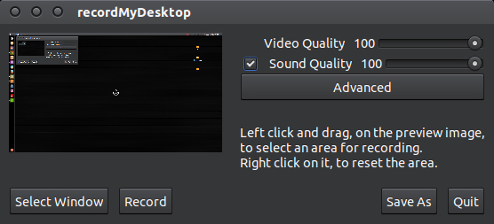 record my desktop youtube