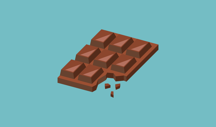 Vector chocolate with Inkscape