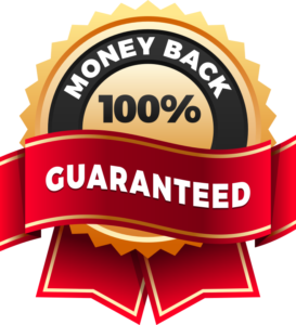 100 Money Back Guarantee Logo