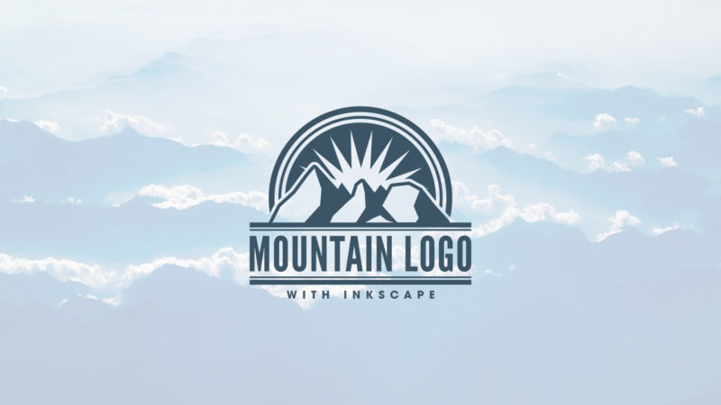 Inkscape Mountain Logo Design Tutorial