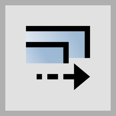 The setting icon that allows you to unbind gradients