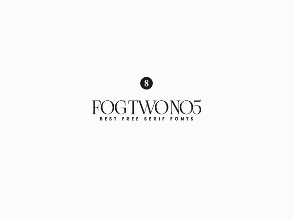 Fogtwo font