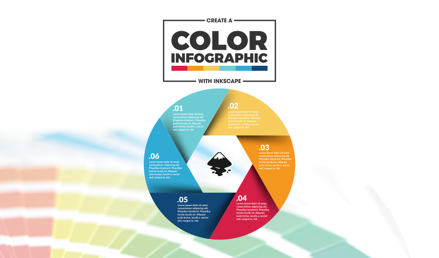 Free Inkscape infographic template