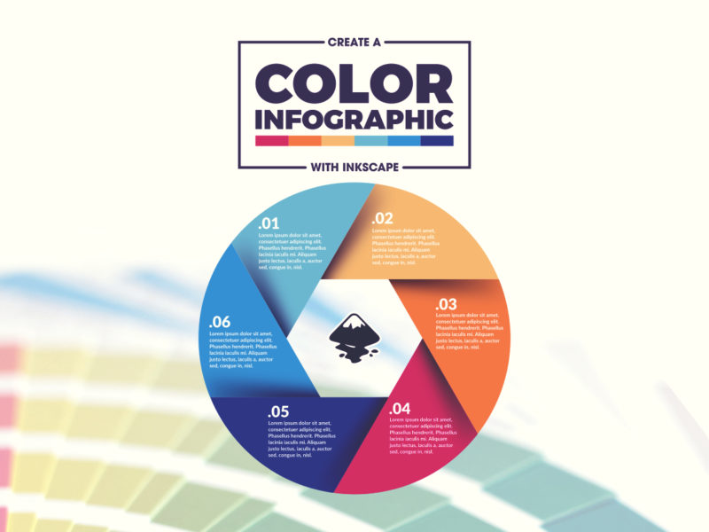 Inkscape infographic template