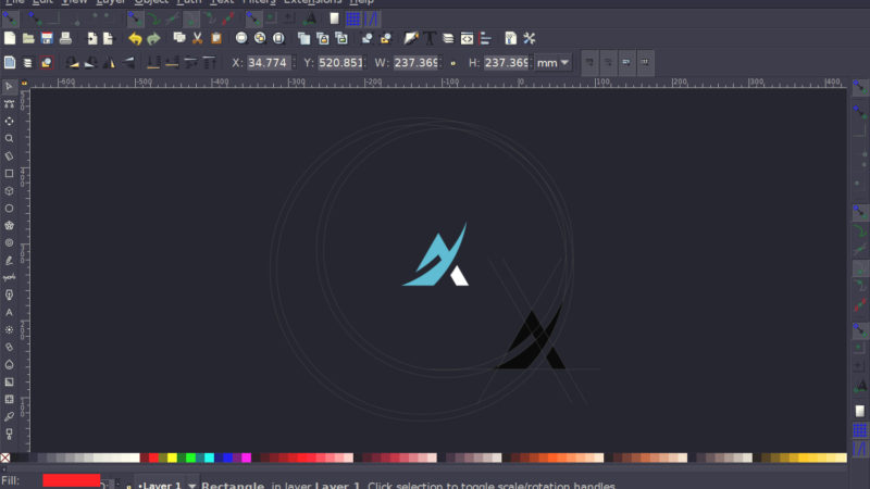 Open source logo design software