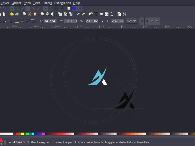New icons for inkscape logos by nick philadelphia logo Open source layout software