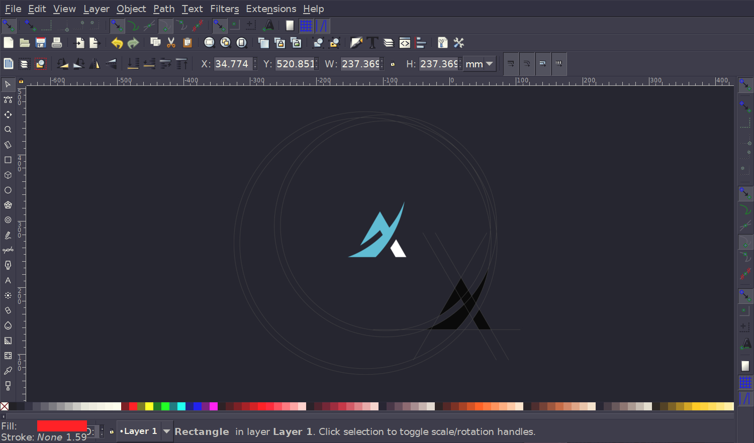Inkscape the best open source logo design software Open source graphics software