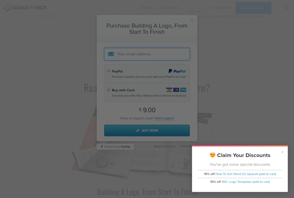 Upselling with Payhip