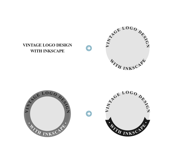 Wrapping text around a circle with Inkscape