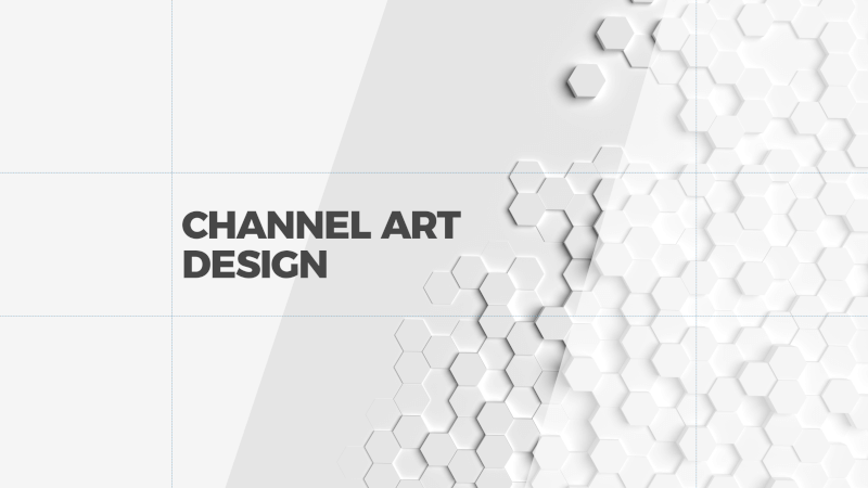 Finished channel art template