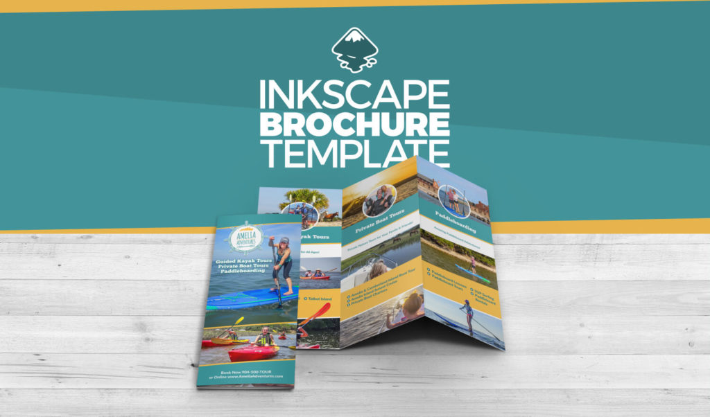 Inkscape brochure template