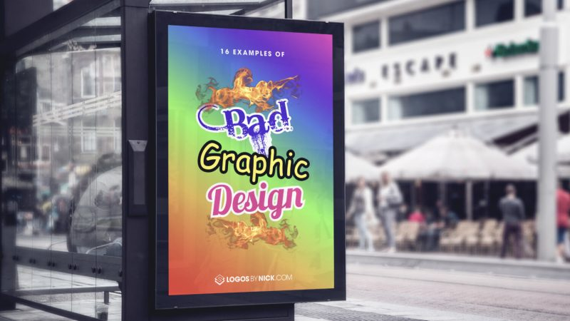 Bad graphic design ads