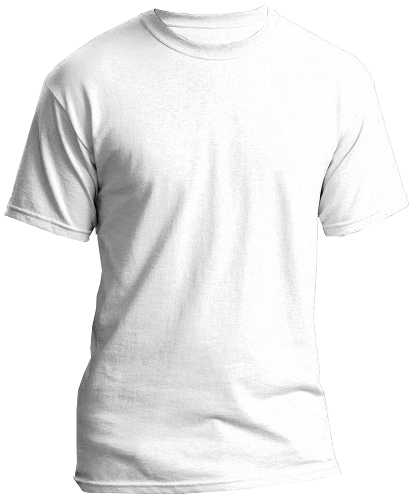 Blank white t shirt PNG