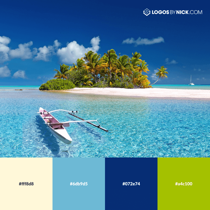 Sunny island color hex