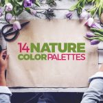 14 Nature Color Palettes with HEX