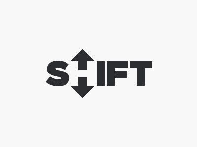 Shift logo design