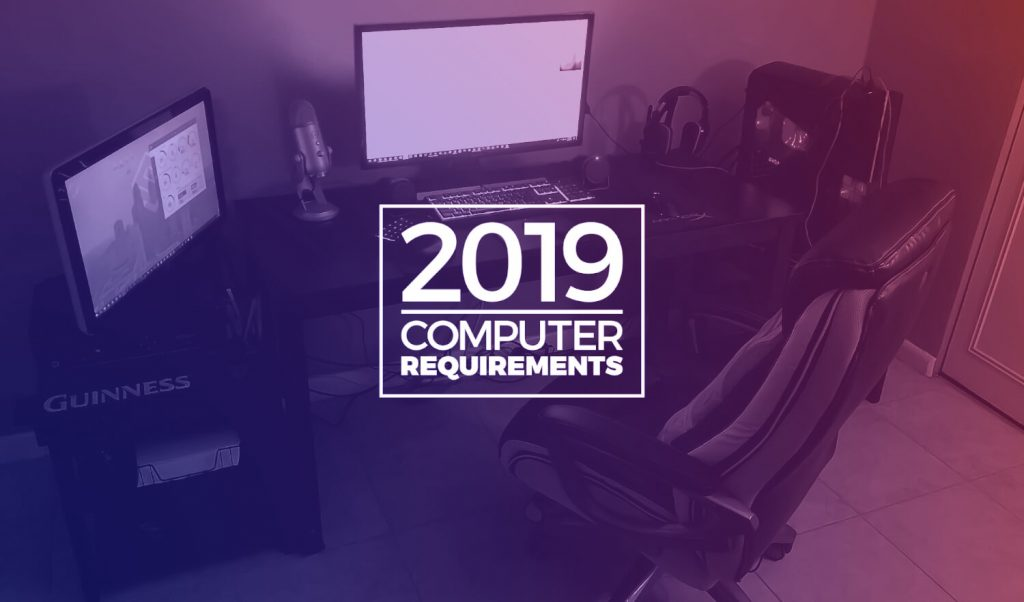Graphic design computer requirements