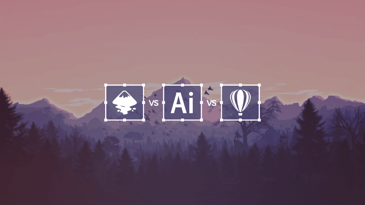 Inkscape vs Illustrator vs. CorelDraw