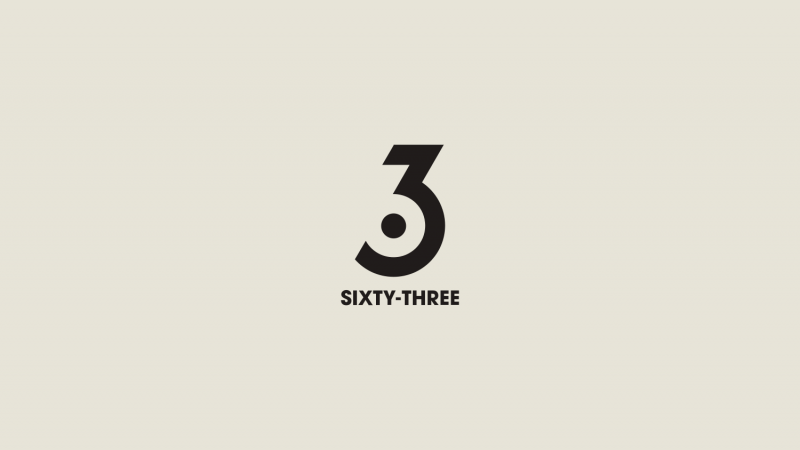 Negative space typography examples
