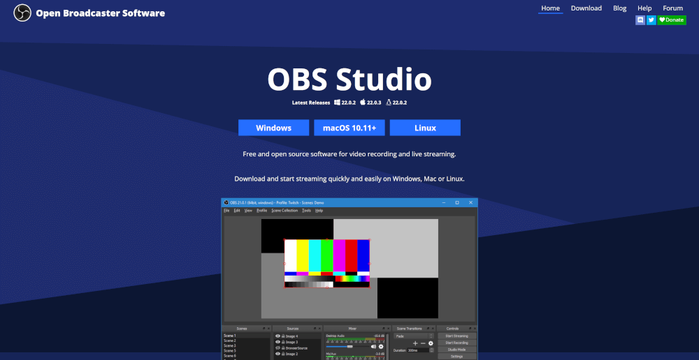 OBSproject website