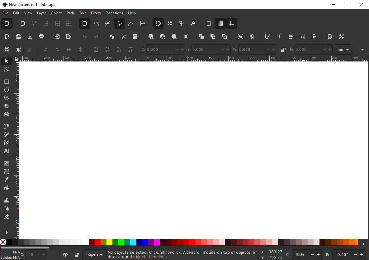 New Inkscape dark theme