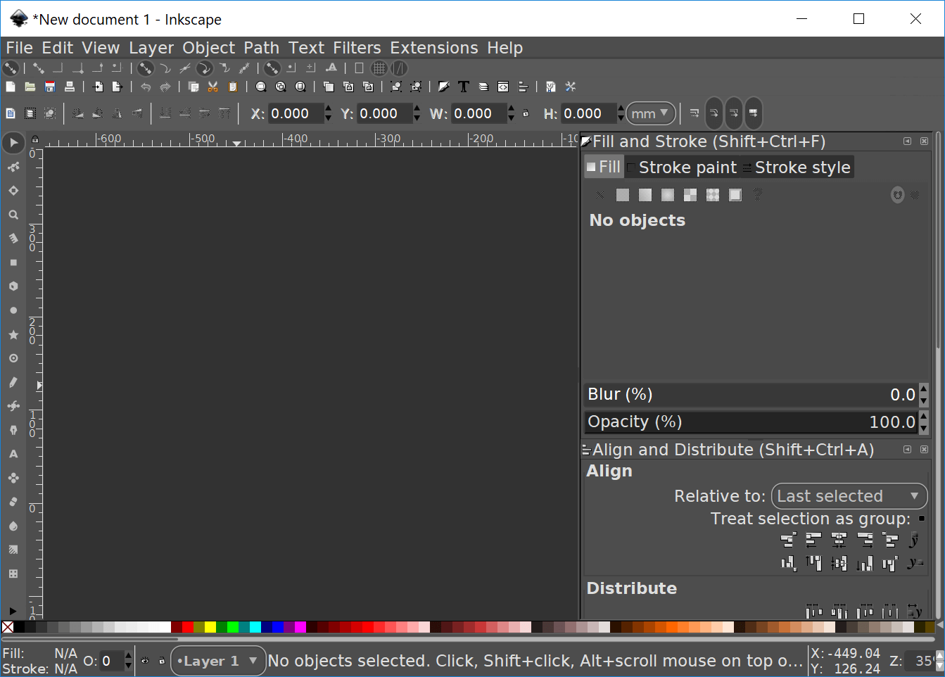 Inkscape dark theme