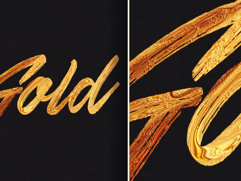 Gold paint GIMP tutorial
