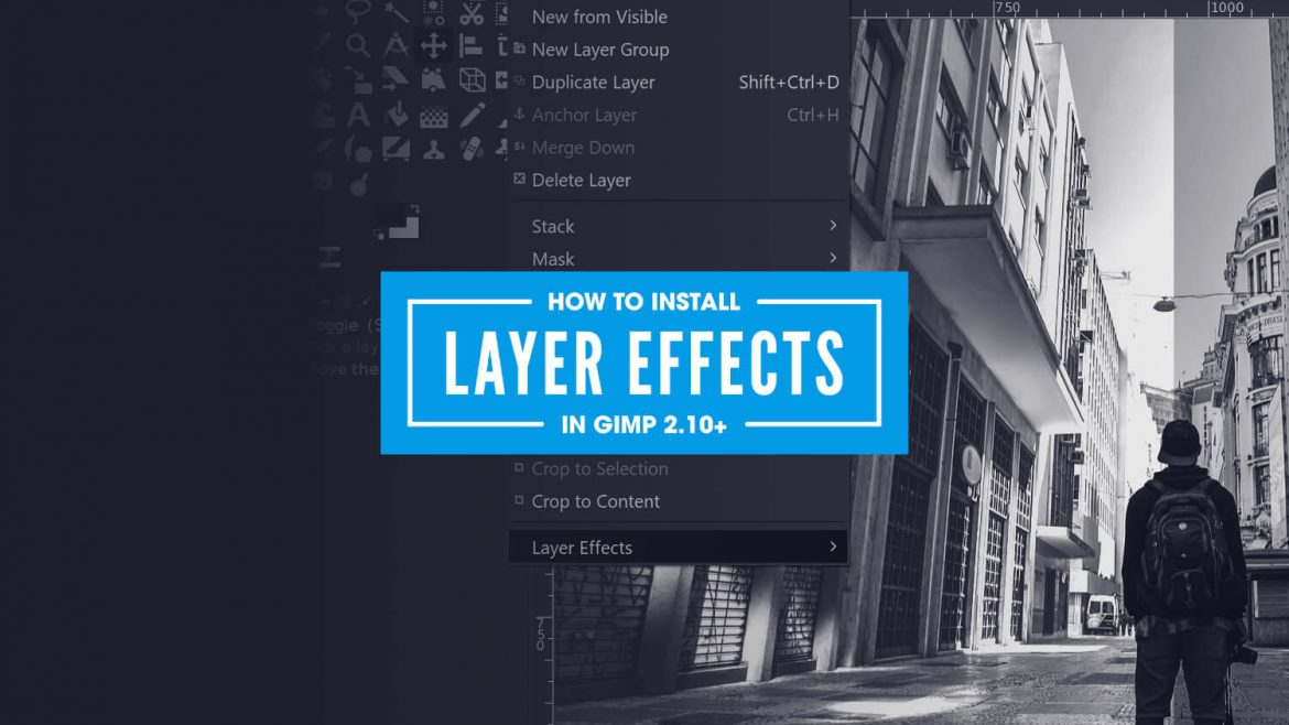 GIMP layer effects plugin for 2.10