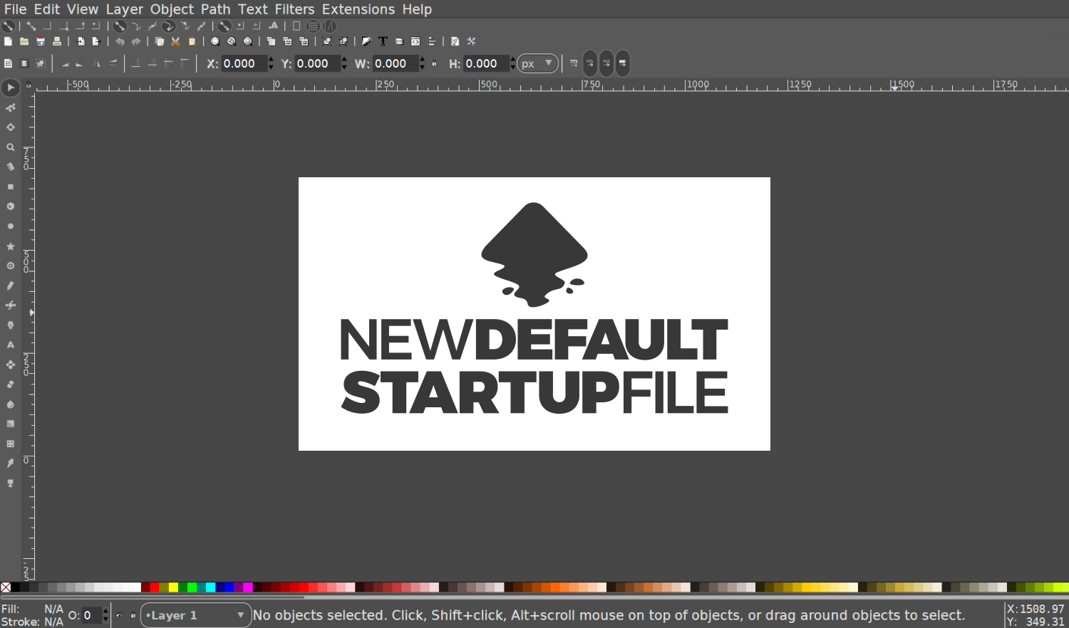 How To Change The Inkscape Default Template Logos By Nick