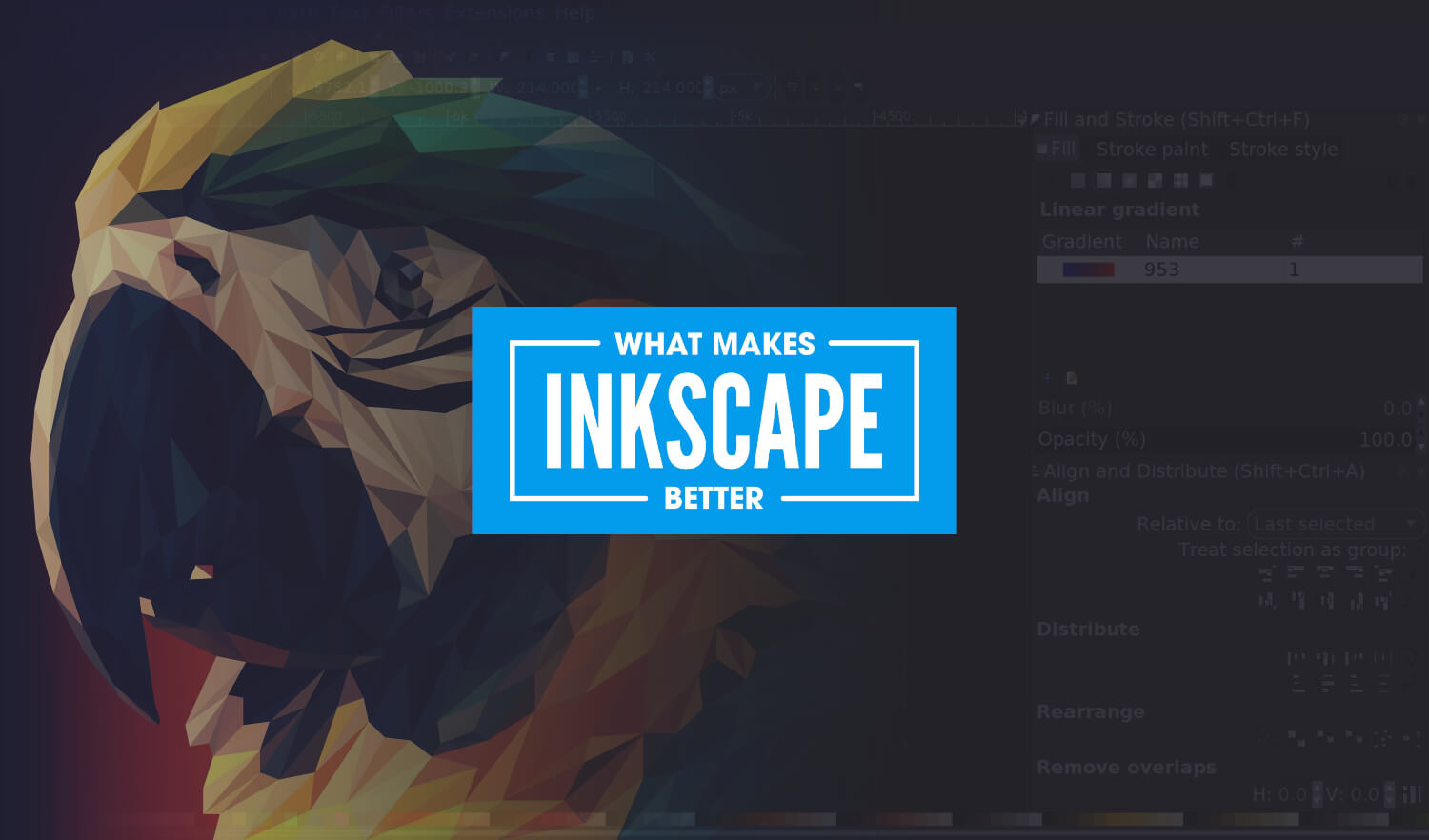 6 Reasons Why I Like Inkscape Better Than Illustrator