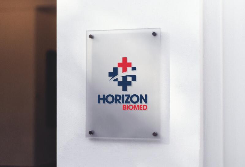 Horizon Biomed logo design
