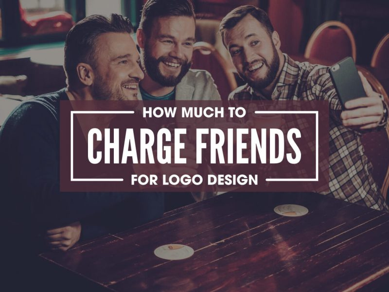 How much to charge a friend for a logo