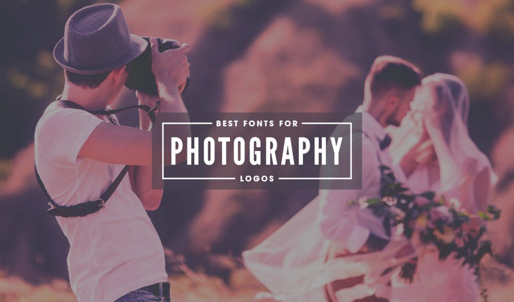 Photography logo fonts