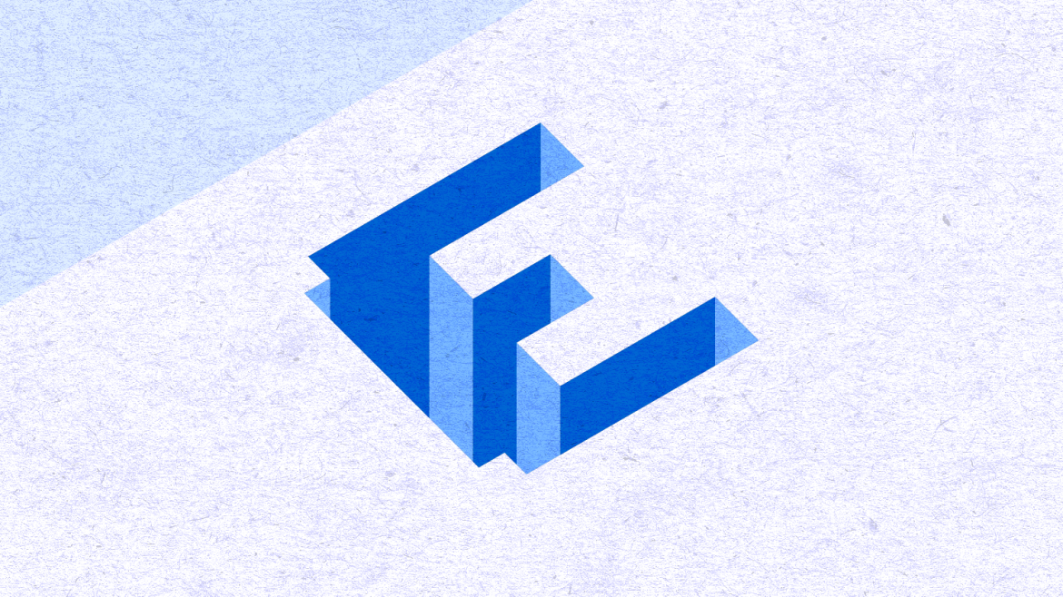 Vector isometric carved text