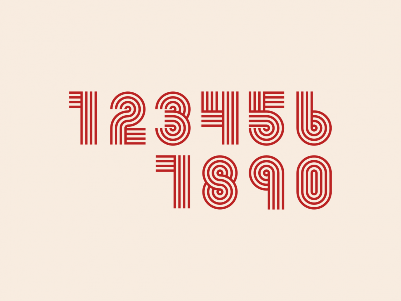 Vector number pack free download