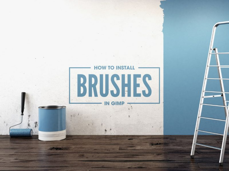 How to install GIMP brushes