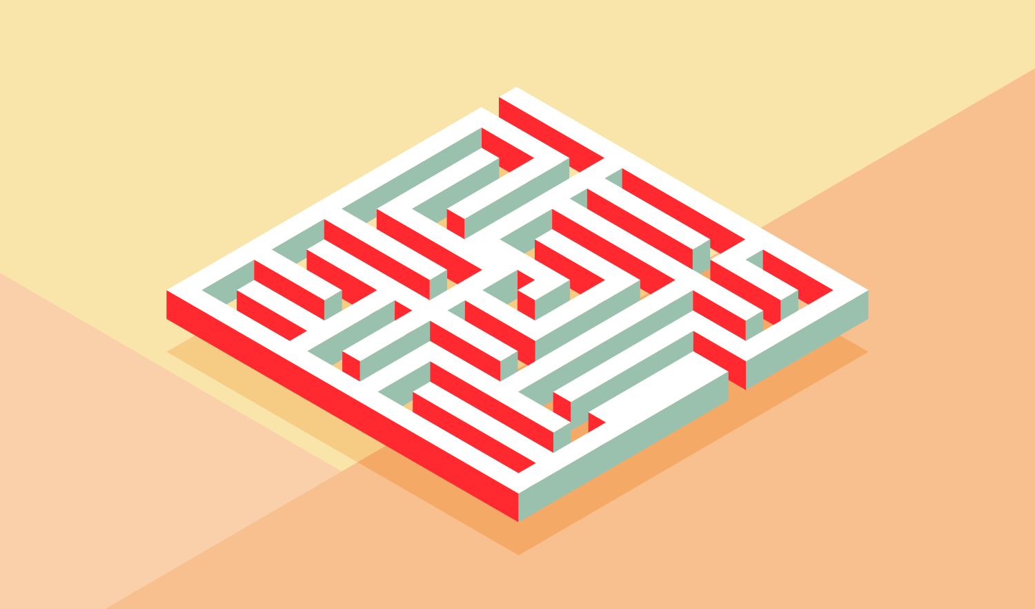 Create An Isometric Maze with Adobe Illustrator   Logos By Nick