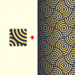 Repeatable background patterns made with Illustrator