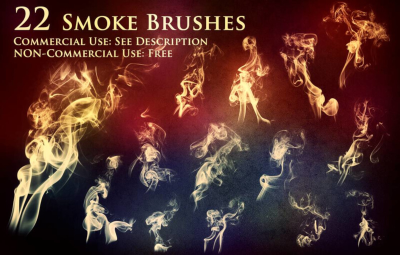 GIMP smoke brushes