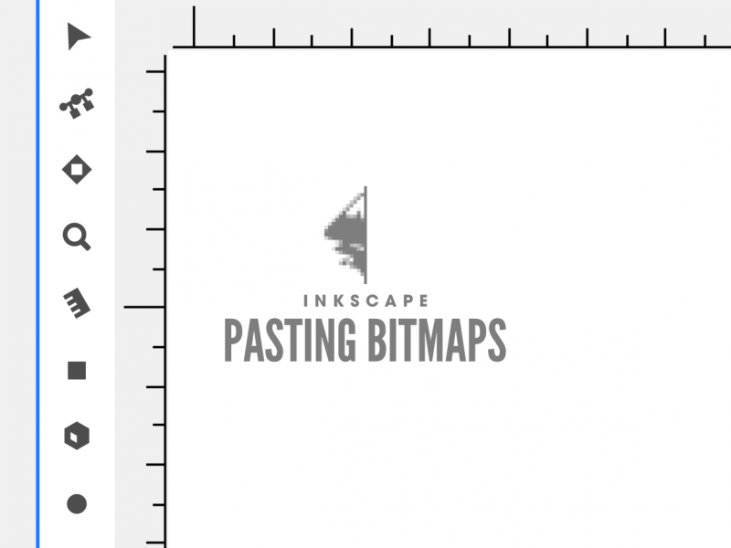 Inkscape pasting as bitmap