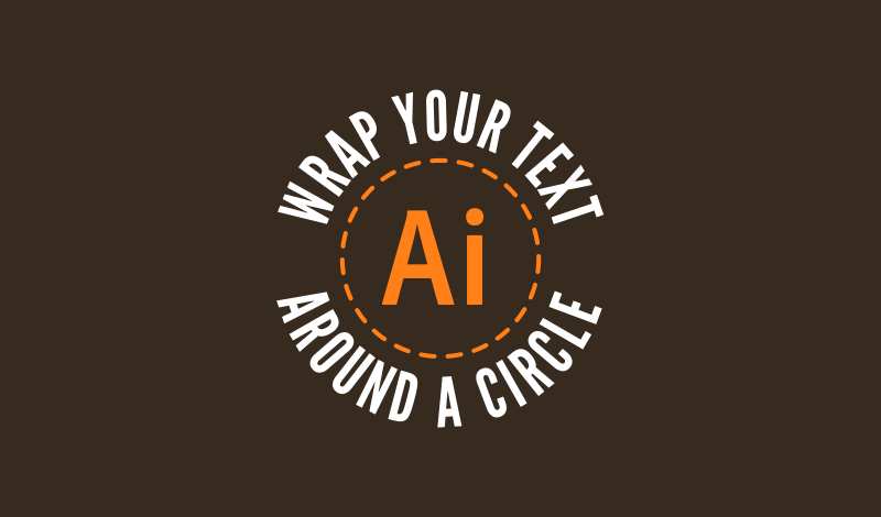 How to wrap text around a circle with Illustrator