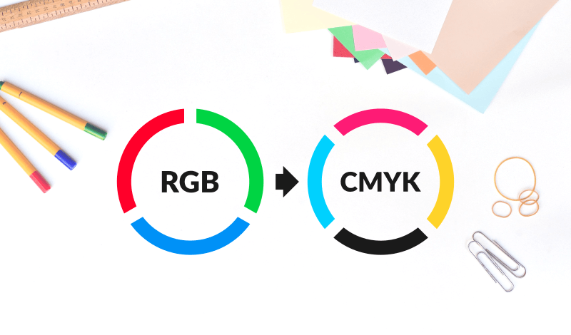 Convert RGB to CMYK with Illustrator