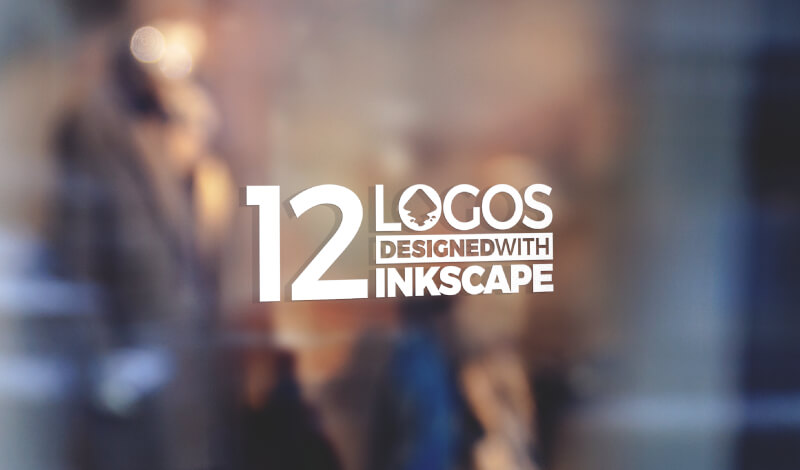 Professional logos designed with Inkscape