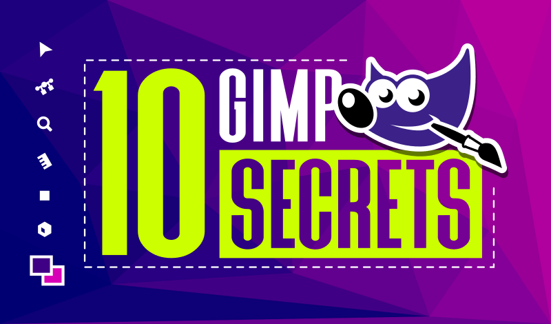 10 hidden secrets in GIMP