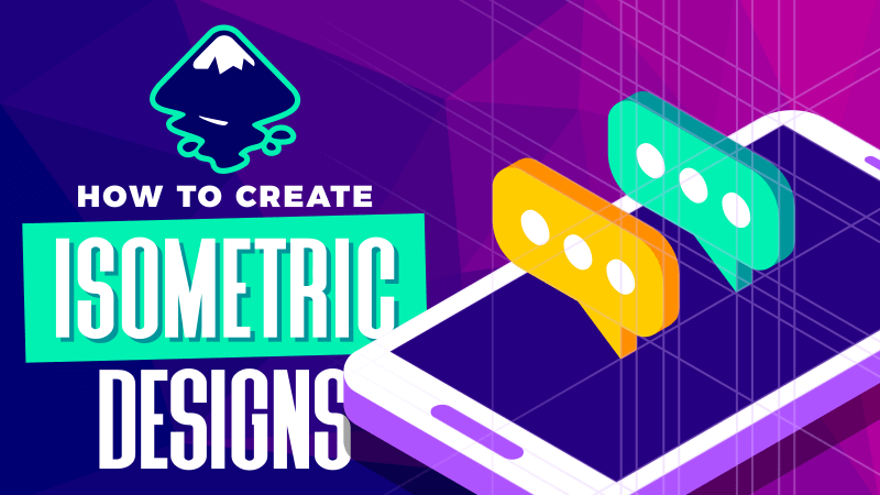 Create isometric designs with Inkscape