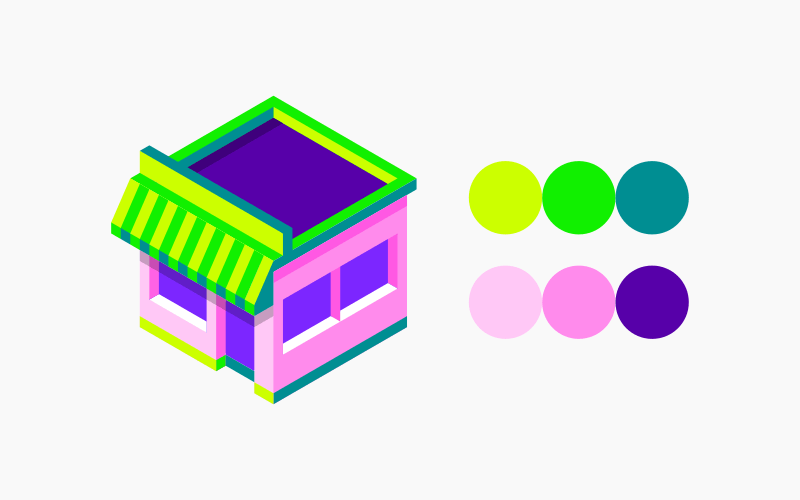 3 shade coloring system