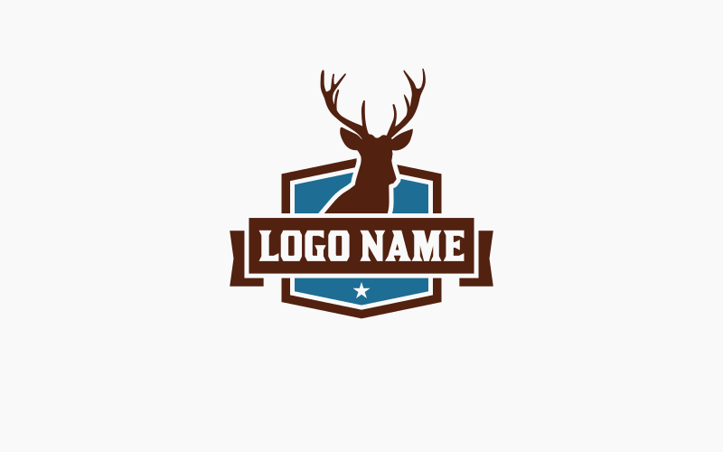 Finished logo design with color applied.