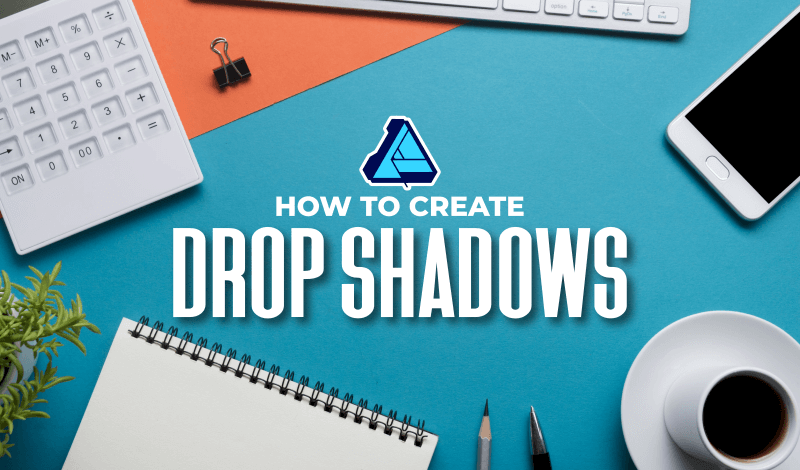 Create drop shadows with Affinity Designer